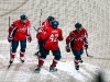 Capitals Celeberate Brouwer's Goal