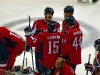 Capitals Talk at Bench