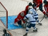 Vokoun Tries to Protect Net