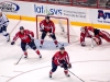 Capitals Near Their Net in Overtime