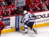 Green Yells From Bench as Semin Takes Puck