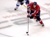 Laich Brings Puck Through Neutral Zone