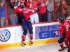 Ovechkin Jumping the Glass Like the Old Days