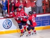 Ovechkin, Orlov and Green Celebrate