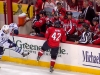 Linesman Falls Into Capitals Bench