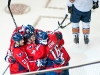 Capitals Celebrate Fehr\'s Power Play Goal