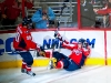 Ovechkin and Johansson Celebrate