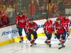Capitals Celebrate Semin's Goal