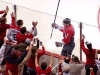 Ovechkin and Crowd Celebrate