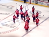 Capitals Salute Crowd At End of 2011-12 Regualr Season