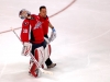 Neuvirth in Pain Escorted From Ice