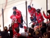 Ovechkin Eyes Green in Celebration