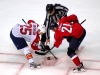 Smithson and Laich Faceoff
