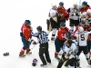 Aftermath of Cooke\'s Knee on Knee Hit on Ovechkin