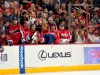 Ovechkin Laying On Boards