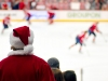 Santa At The Caps Game