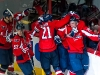 Capitals Celebrate Semin\'s Overtime Game Winner
