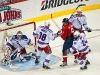 Ovechkin At Top of Lundqvist\'s Crease