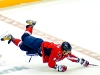 Ovechkin Reaching From Air