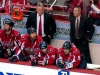 Hunter Looks At Ovechkin After Missed Opportunity