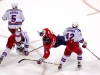 Ovechkin and Staal Fall