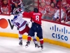 Ovechkin Hits Staal