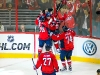 Capitals Celebrate Perreault\'s Third Period Goal
