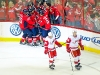 Celebrating Johansson\'s Goal