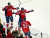 Ovechkin and Brouwer Celebrate Green's Goal