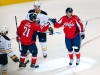 Laich and Backstrom Celebrate Goal