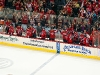 Capitals Bench Celebrates Game Tying Goal