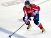 Ovechkin Carrying the Puck Over Blue Line