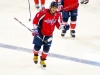 Ovechkin Smiles On Way To Bench