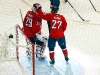 Alzner Congratulates Vokoun