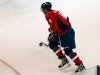 Ovechkin Carries Puck at Top of Circle