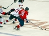 Semin Brings Puck Into Senators Zone