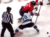 Ovechkin Beats Couture on Faceoff
