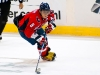 Ovechkin Skates With Puck In Neutral Zone