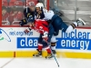 Ovechkin Checks Byfuglien Against Boards