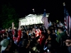 Backstrom Jersey In The Crowd Outside the White House