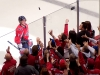 Ovechkin Watches Second Star Puck