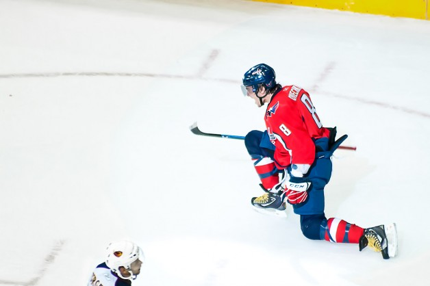 Ovechkin Celebrates a Goal a Long Time in Coming #4