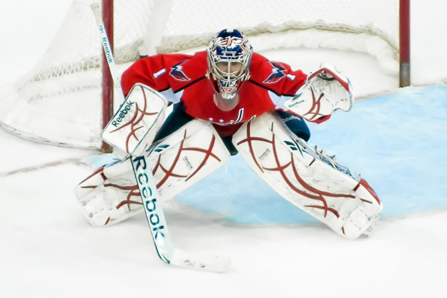 Varlamov In Position