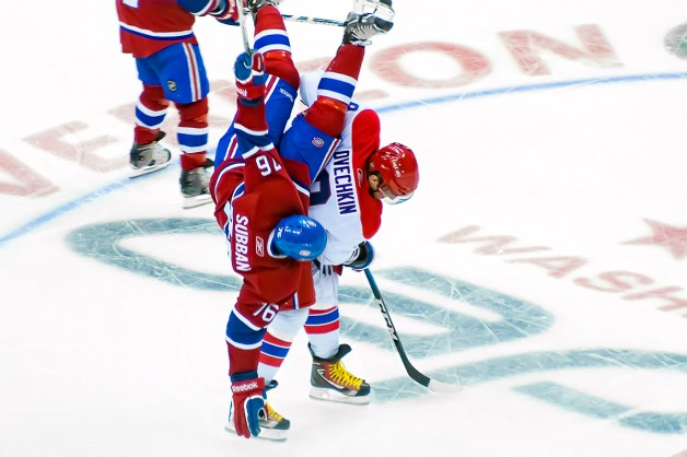 Ovechkin Upends Subban