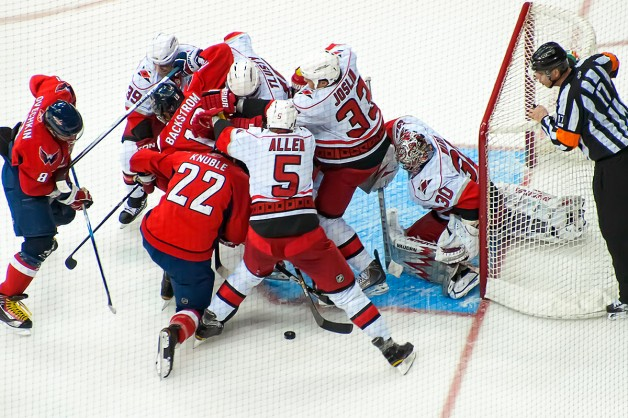 Capitals Crashing Crease