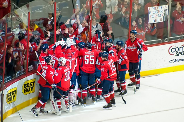 Capitals Celebrate, Fans Want Bigger Cup for Beer