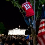 Image for Caps Fans Outside the White House