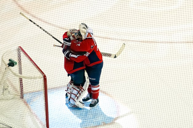 Hendricks and Vokoun Celebrate