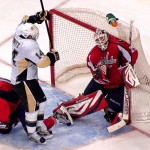 Image for Vokoun and Caps Shut Door on Pens
