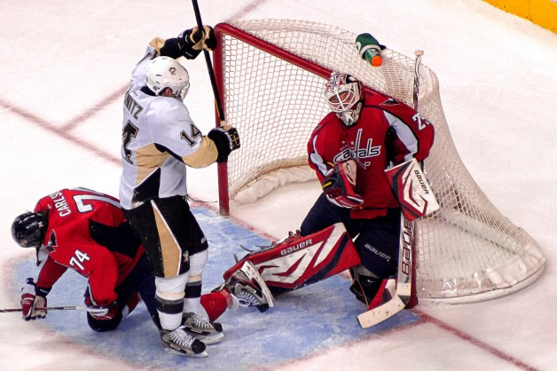 Vokoun With late Save on Malkin